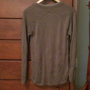 lululemon athletica Sweaters - Lululemon, olive green Sunshine Coast sweater